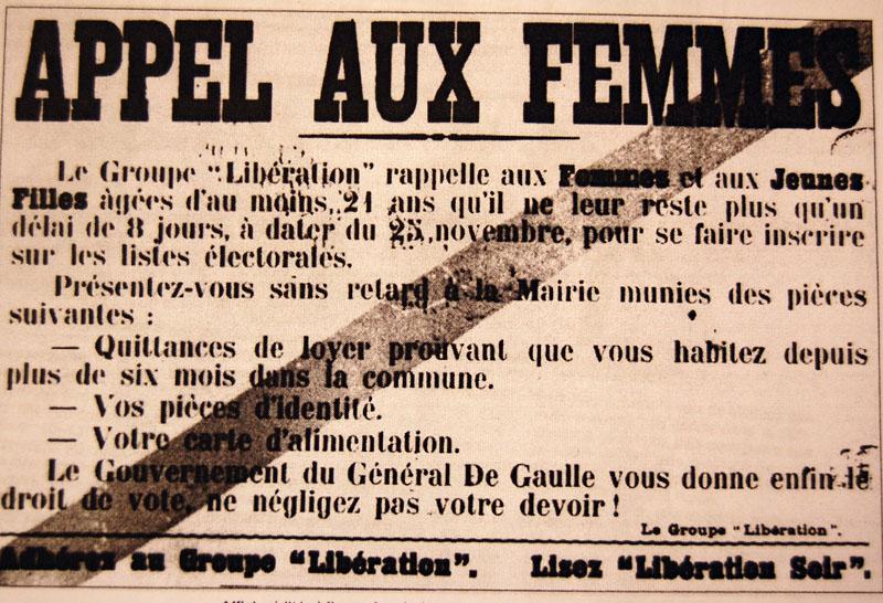 Extrem Les Françaises sont parmi les dernières femmes du monde occidental  RK36