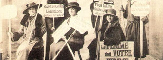 Les Françaises sont parmi les dernières femmes du monde occidental à acquérir le droit de vote ?