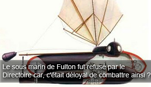 Fulton Nautilus Submarine