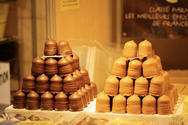 salon du chocolat defile