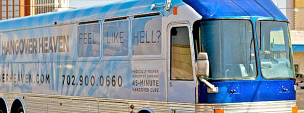 Un bus contre la gueule de bois vient d'ouvrir à Las Vegas ?