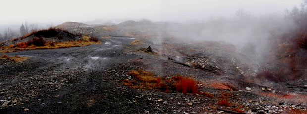 Centralia est une ville qui brûle depuis plus de 50 ans.