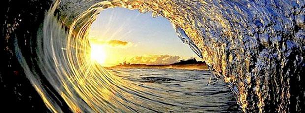 Images insolites : Les vagues