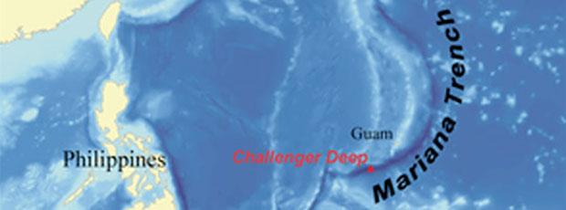 The Challenger Deep est le point le plus profond des océans ?