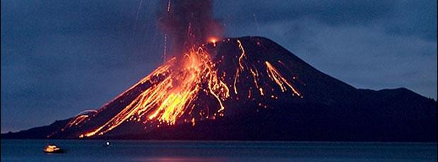 Le volcan du Krakatoa a produit le bruit le plus fort de toute l'Histoire ?