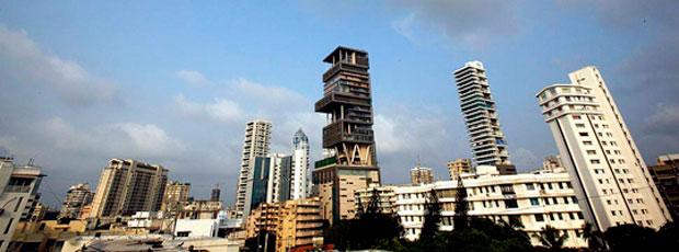 La maison la plus chère du monde se situe en Inde ?