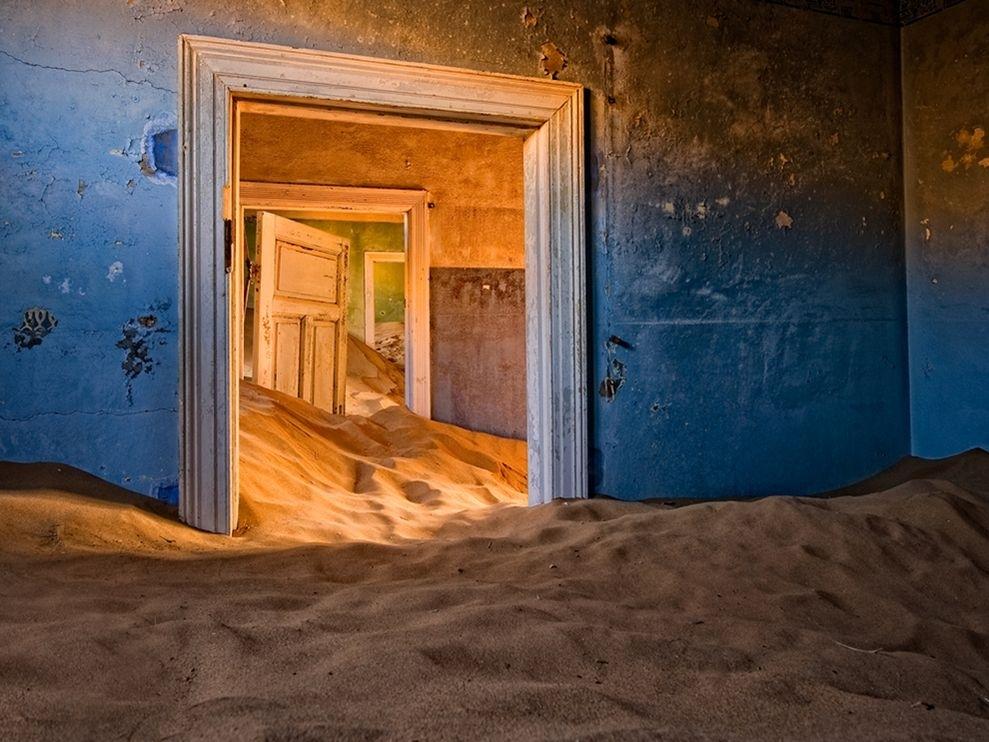 Kolmanskop-Desert- Namibie