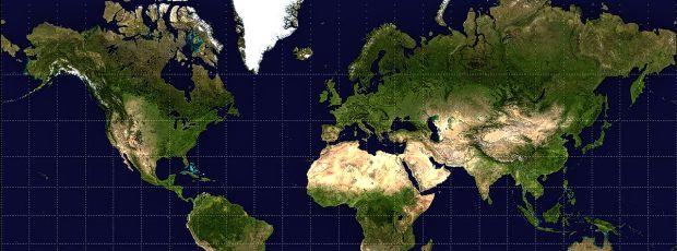 Les cartes du monde sont fausses ?